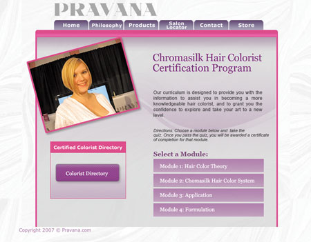 Pravana Offers Online Certification
