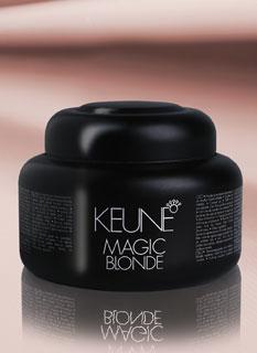 Keune's Cream Bleach and Magic Blonde