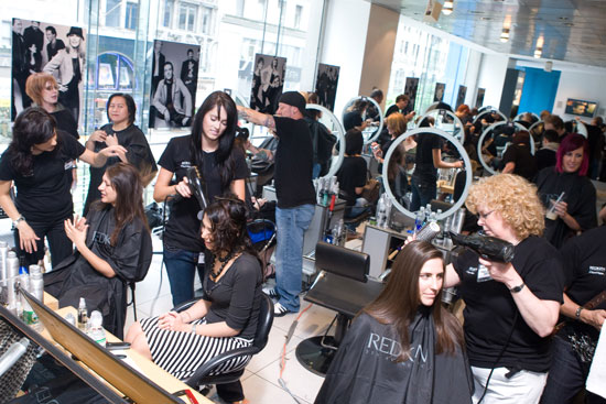 Cut-A-Thon at the Redken Exchange