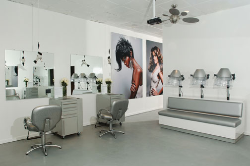 White Haute: The Kimble Hair Studio
