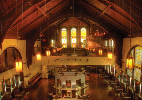 BangZ Salon: A Former Masonic Temple