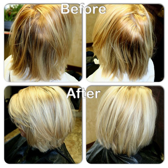 Six Before and After Color Makeovers