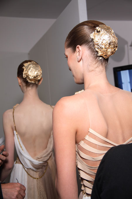 Hairstyles from Mercedes Benz New York Fashion Week