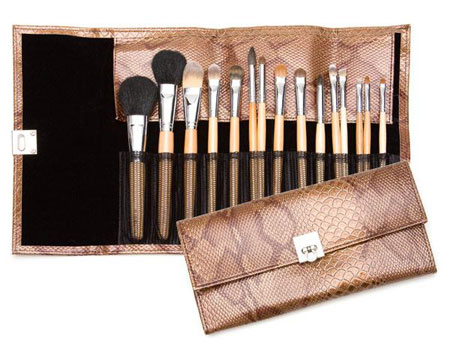 Auraline Beauty's 15-Piece Birch Brush Set