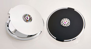 Swarovski Elements Compact Mirrors by Brandon