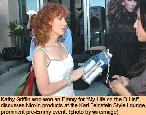 Nioxin a Hit at Emmy Galas