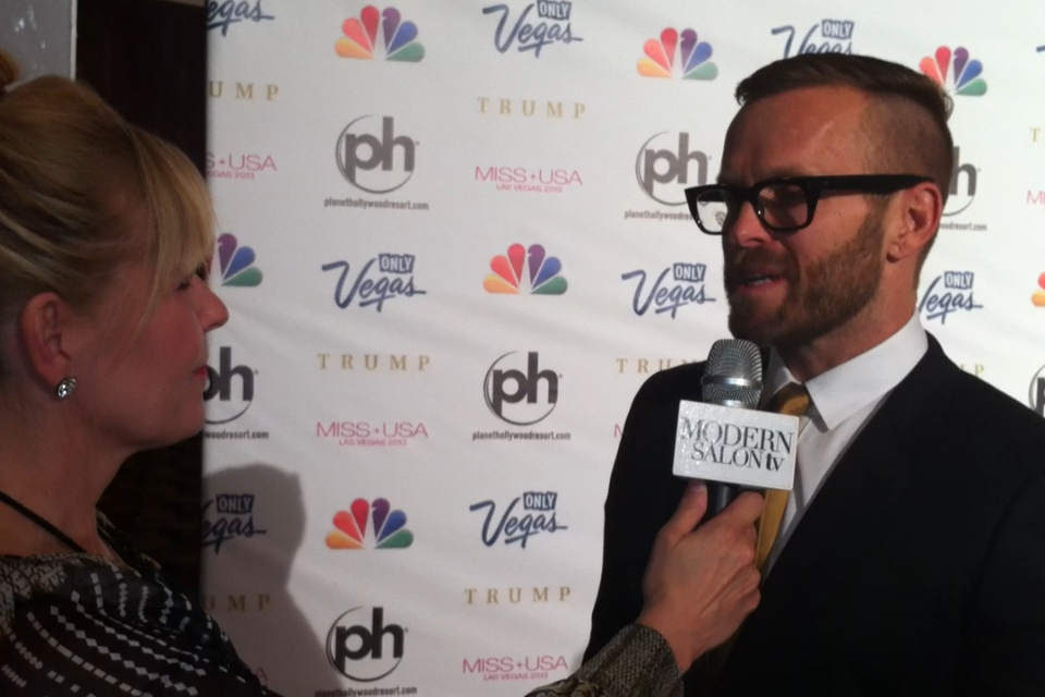 The Biggest Loser's Bob Harper Gives Advice to the Salon Pro