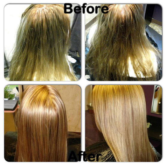 Highlights Kenra Lightener With 10 Volume Developer