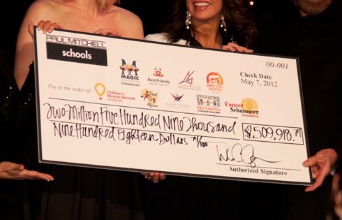 Paul Mitchell Schools Raise $2.5 Million for Charity