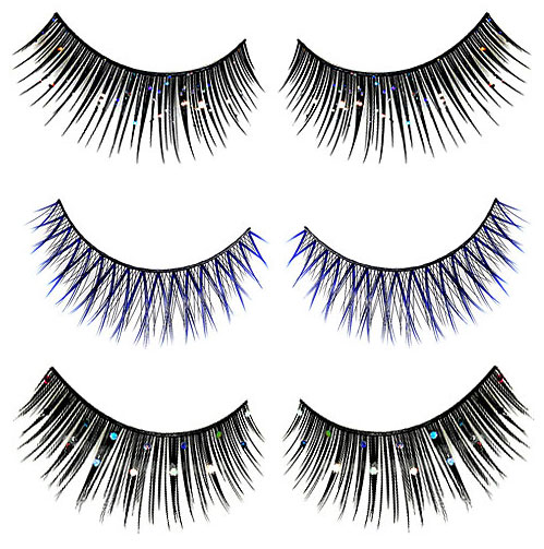 Fun Lashes...A Great Way to Finish a Holiday Look