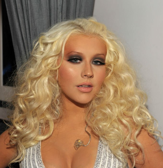 Christina aguilera bares breasts opinion you