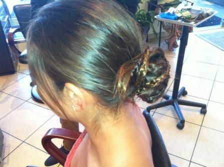 L.A. Hair's Anthony Pazos Demos Easy Braided Updo