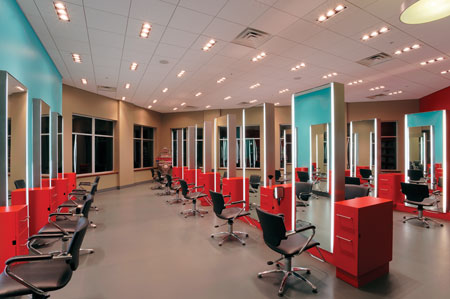 Bold and Colorful: Anton's Salon and Spa