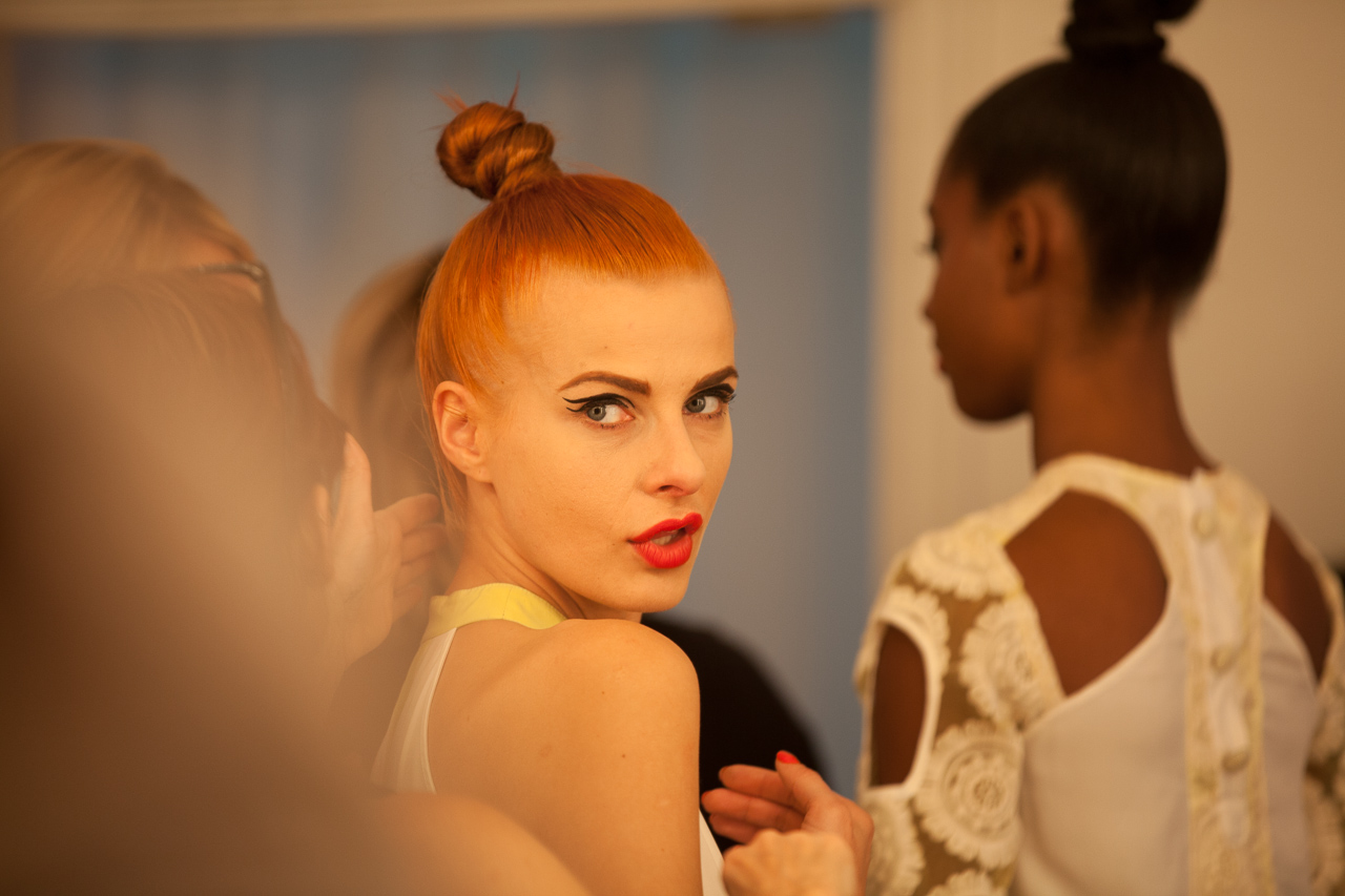 14 Shows, 120 Models, One Day:  Aubrey Loots Styles LA