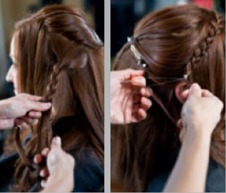 HOW-TO: Warm Copper Redhead Formula and Braided Style for Winter