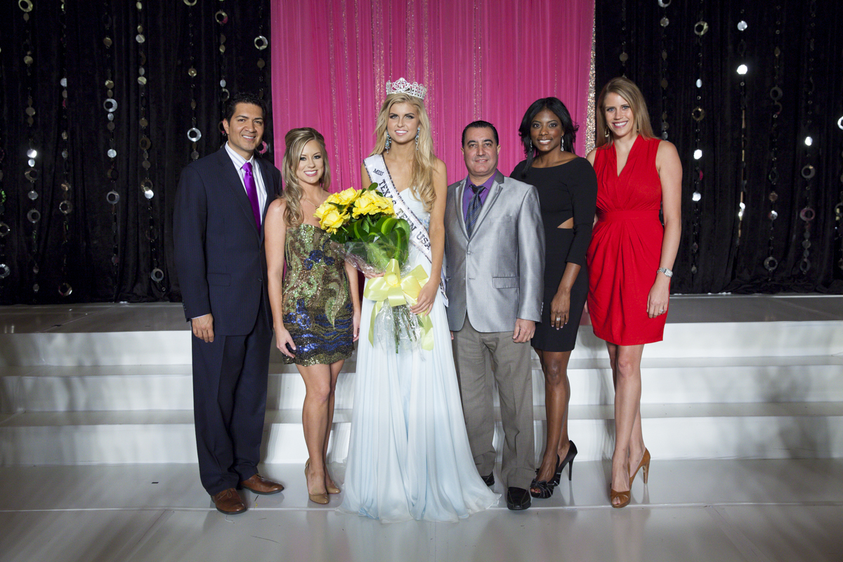 CEO of Farouk Systems, Basim Shami Crowns Miss Texas Teen USA