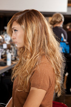 FASHION WEEK: Antoinette Beenders for Aveda at Christian Siriano