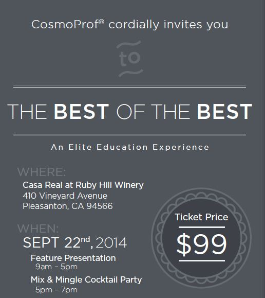 Save the Date: Best of the Best