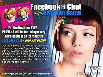 Facebook Chat with Brig Van Osten!