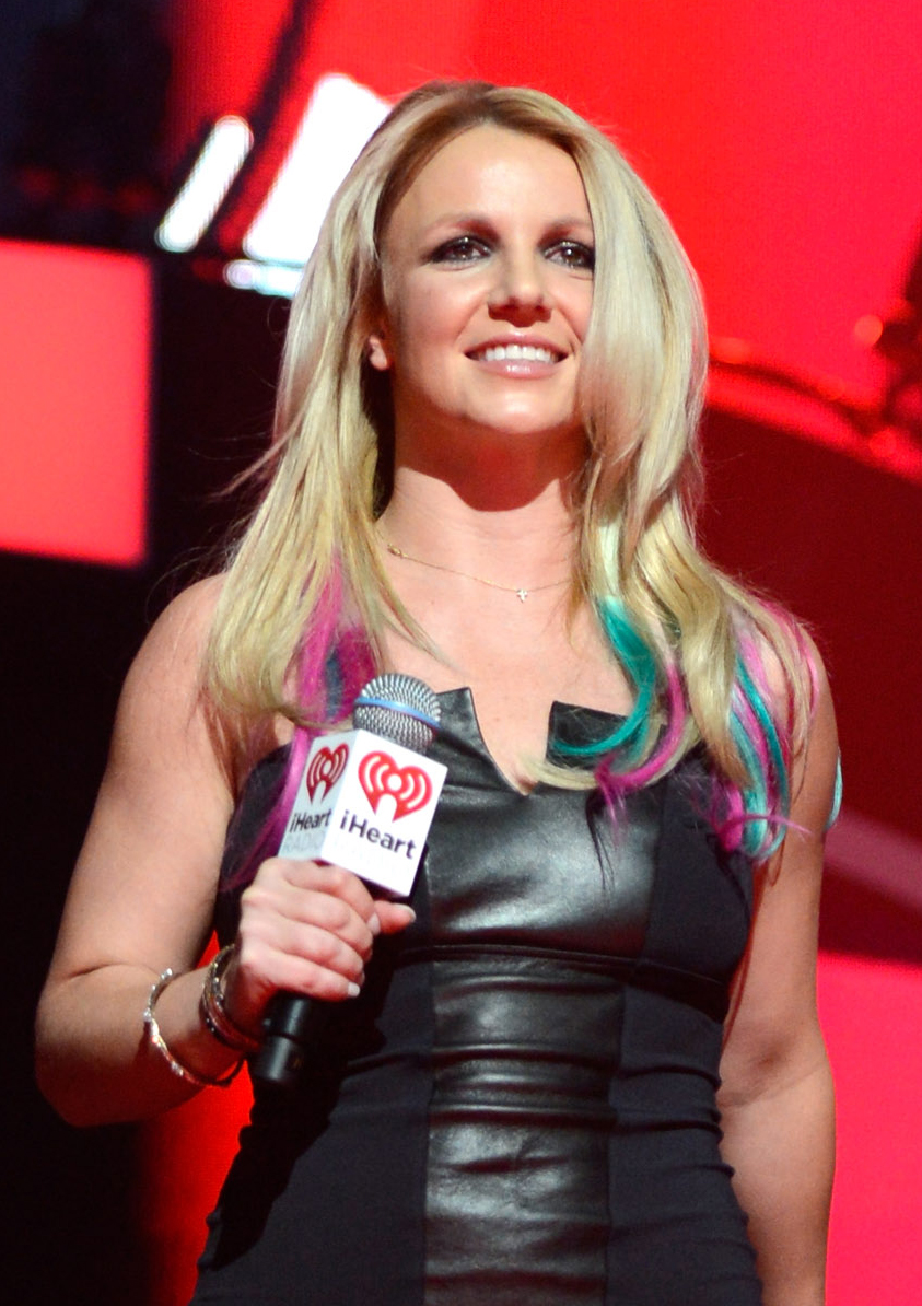 Britney Spears' New Rainbow Bright Hair
