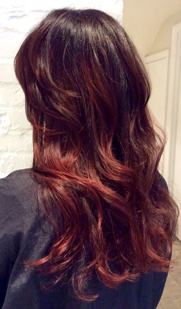 Marsala Color Of The Year In Action Career Modern Salon