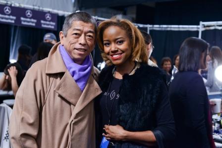 FASHION WEEK: China Glaze at Tadashi Shoji