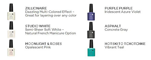 CND Shellac Polish to Launch Six New Shades in September