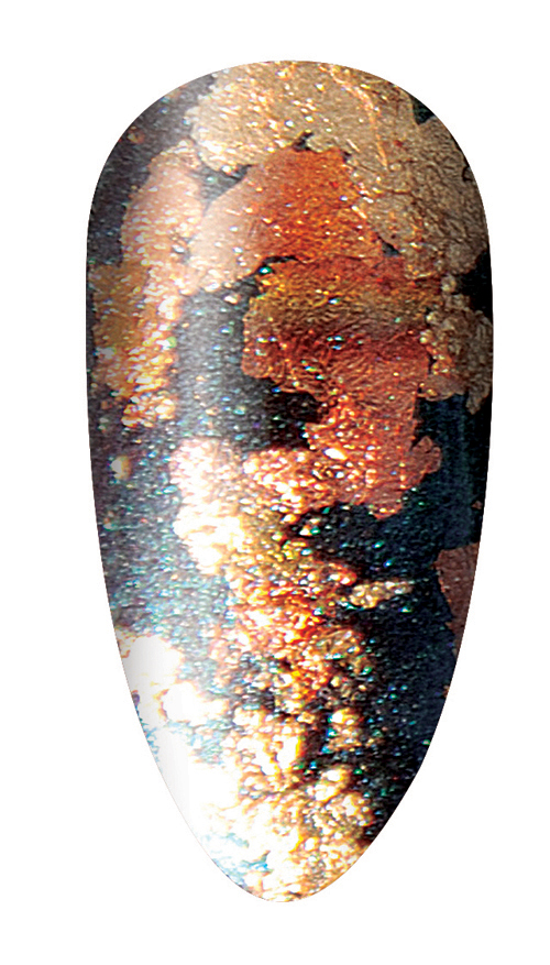 "CND's New ""Tarnished Metal"" Nail Look"