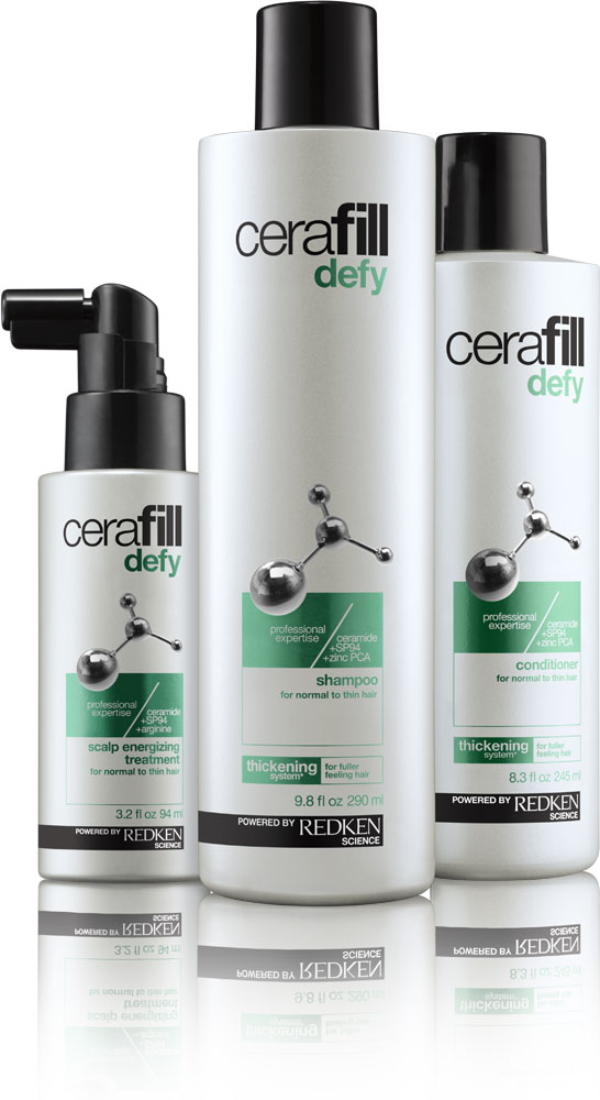 Redken's New Cerafill Line Fights Hair Loss for Men and Women