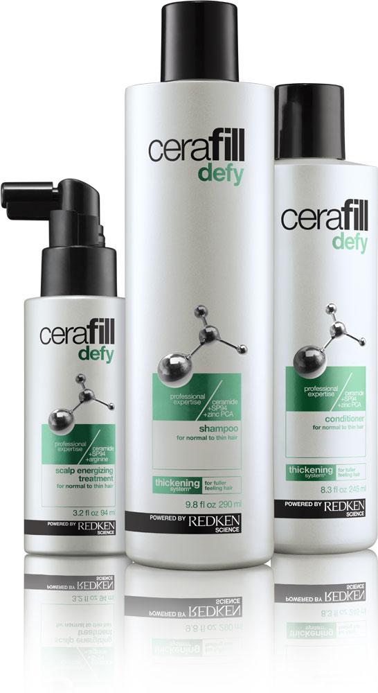 Redken's New Cerafill Line Fights Hair Loss for Men and Women