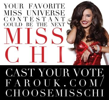 Miss CHI Model Search at Miss Universe
