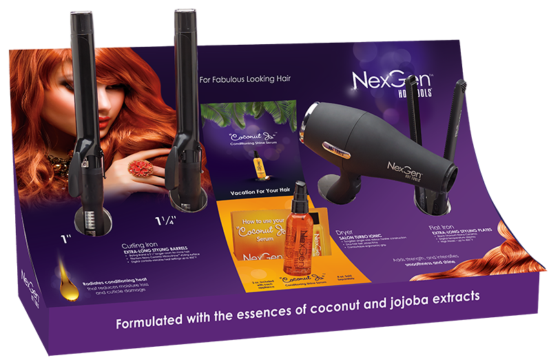 Hot Tools' NexGen Appliances Infused With Coconut and Jojoba