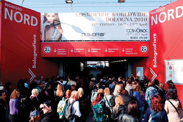 Cosmoprof beauty show a success in Italy