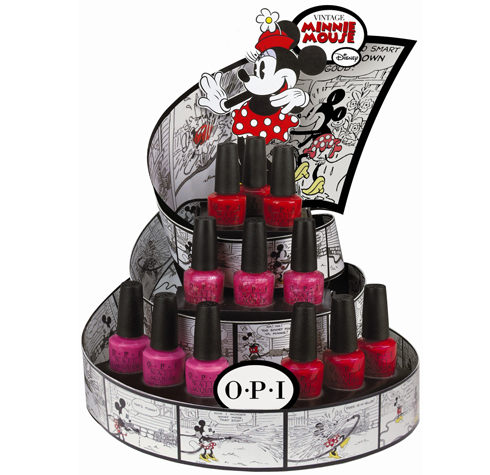 Minnie Mouse Inspired Nail Lacquers