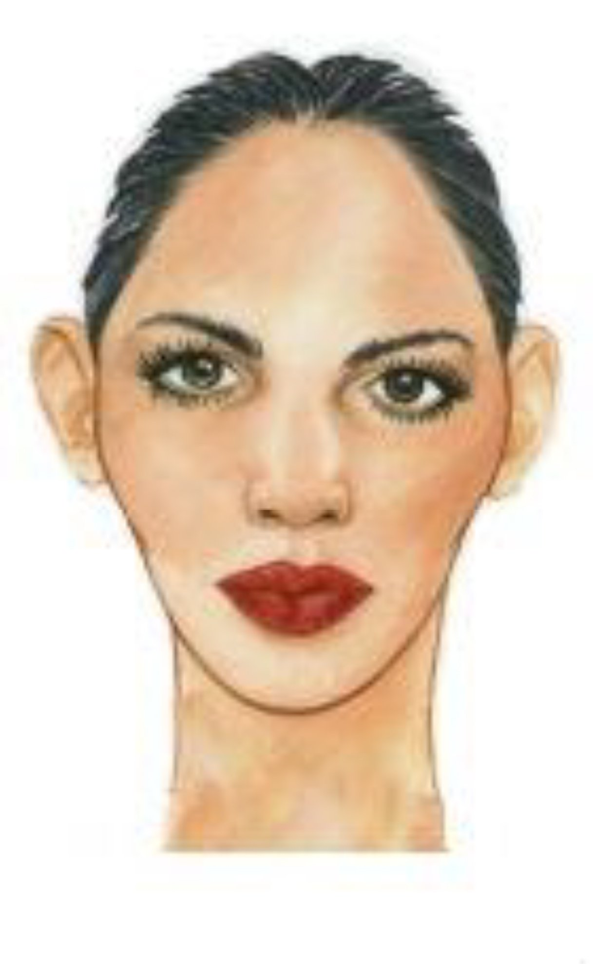 A Closer Examination at Face Shapes for the Stylist