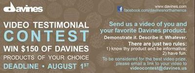 Davines Announces Facebook Video Contest