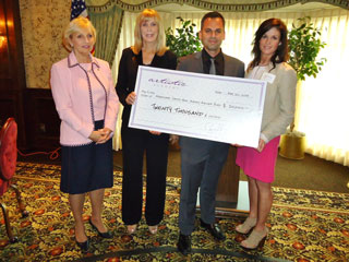 DePasquale Donates to Hurricane Sandy Relief