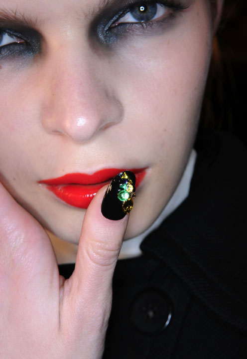 Jan Arnold's Favorite Nail Designs at Fashion Week