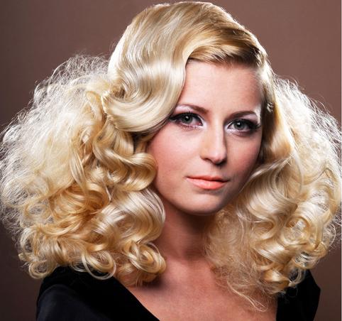 Bohemian Bride: Frothy Curls