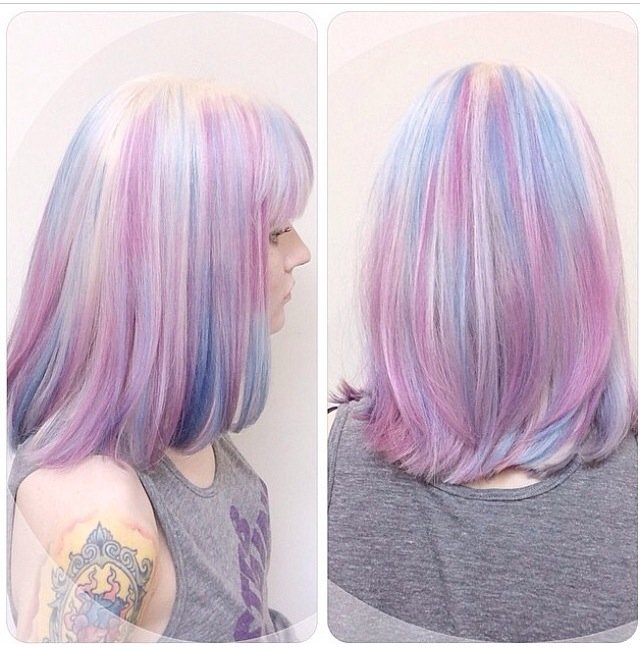FORMULA & HOW TO: Inspired by Aveda Culture Clash, a Pastel Blend