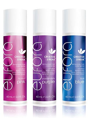 Unleash Your Creative Streak with Eufora's Temporary Color Sprays