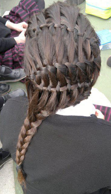 Braid of the Day How-to: The Extended French Braid!