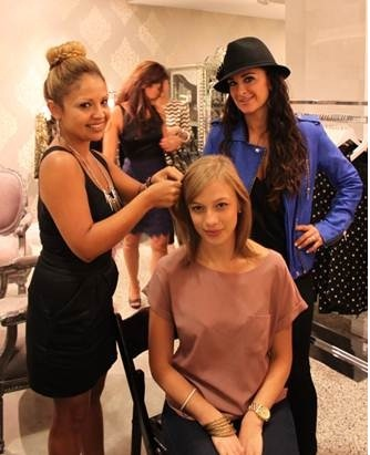 FNO: Joico Hosts Braid Bar in Beverly Hills