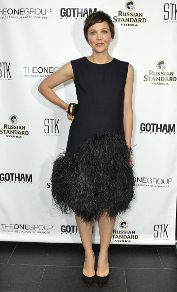 Maggie Gyllenhaal's Sexy, Tousled Pixie by Matthew Monzon