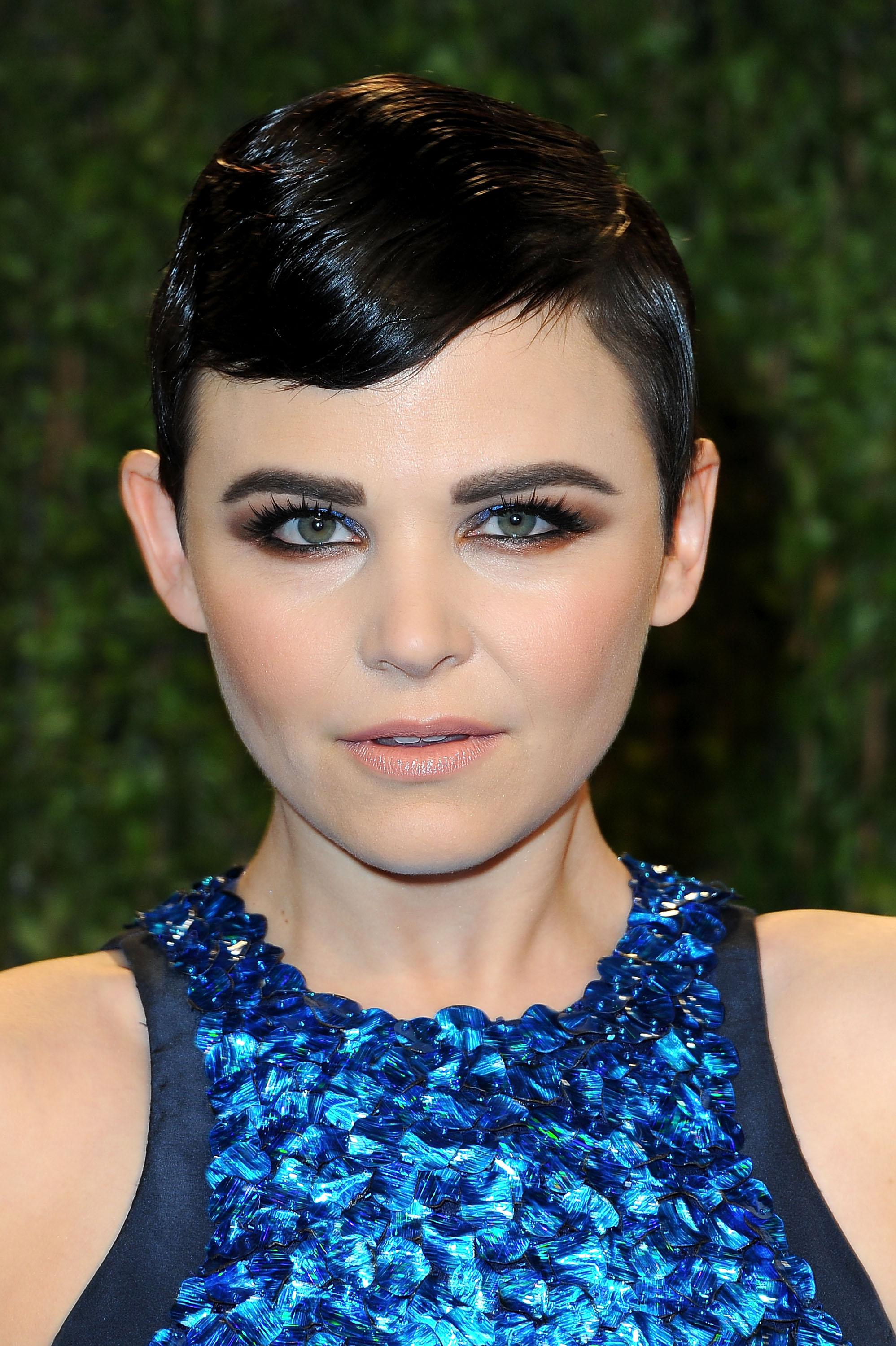 THE OSCARS: Ginnifer Goodwin at Vanity Fair in Finger Waves