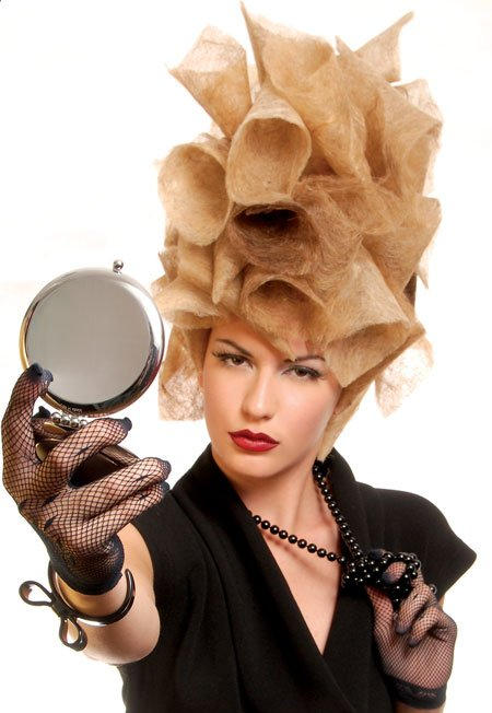 "Extreme Updo: ""Hair Couture"""