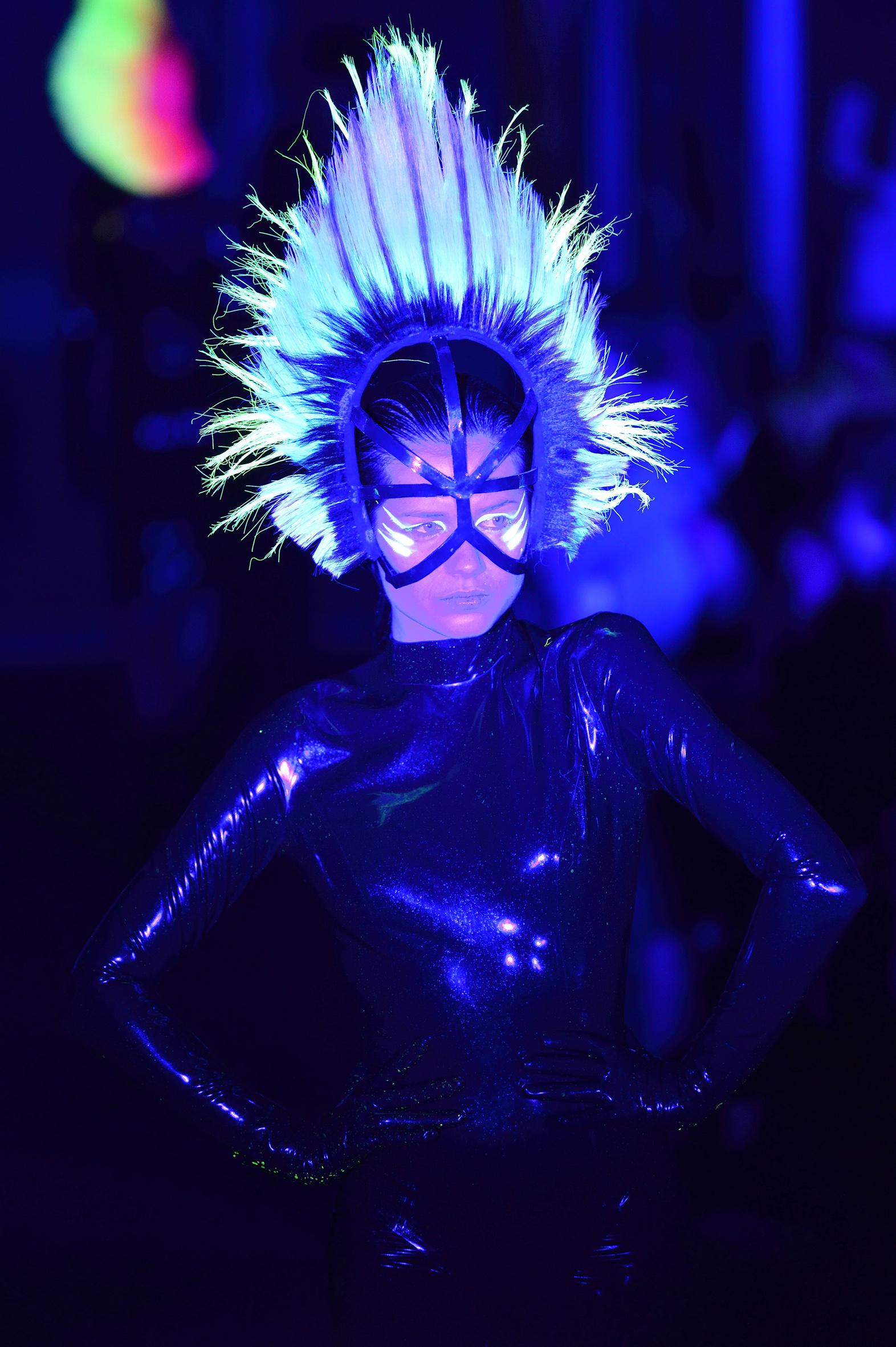 Haute Coiffure Designer Le Mindu Presents at Paris Fashion Week