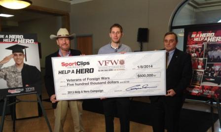 Sport Clips Announces $500,000 in  Scholarships for Veterans