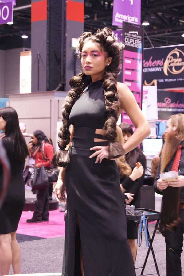 4 Braid Styles Seen at America's Beauty Show
