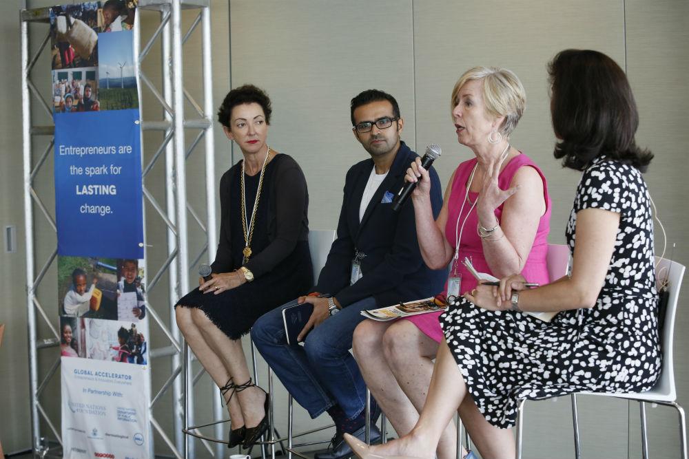 Dermalogica's Jane Wurwand Addresses UN Global Conference